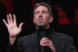 FILE: Oracle CEO Larry Ellison Steps Down